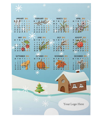 Changing Picture Card Calendar for Christmas