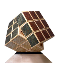 Magic Wooden Cube Rubik